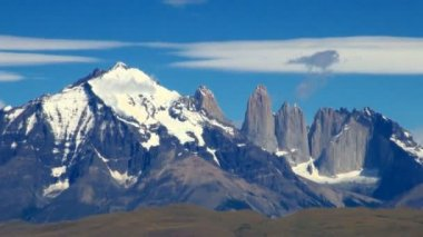 Torres del paine national park — Video Stock