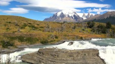 Torres del Paine National Park — Stockvideo