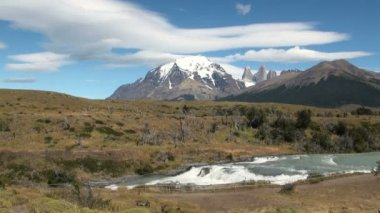 Torres del Paine National Park — Стоковое видео