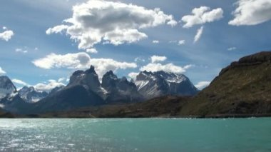Torres del Paine National Park — Stock Video