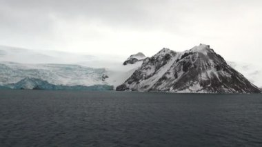 Antarctica - cloudy day — 图库视频影像
