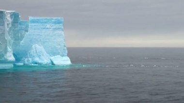 Antartica - Tabular Iceberg in Bransfield Strait — Vidéo