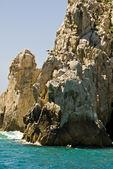 Мексика - Кабо Сан Лукас - скалы и пляжи — Стоковое фото