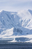 Antarktis - Landschaft gefroren — Stockfoto