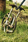 Bike With Spokes Of Hammers — Stock Photo