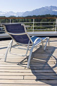 Alaska - Relaxing On The Deck — Stock Photo