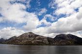 チリのフィヨルド、運河サルミエント — ストック写真