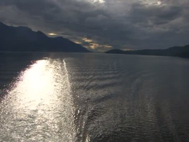 Inside Passage - Vancouver, Alaska — Stock Video
