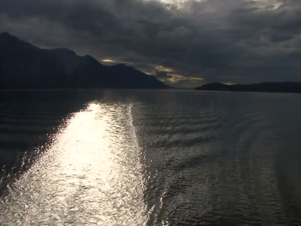 Pasaje interior - Vancouver, Alaska — Vídeo de stock