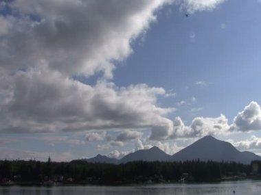 View of Ketchikan, Alaska Harbor - USA — Vídeo de Stock