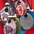 Постер, плакат: Jewelry Tagua Nut Pendants
