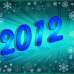 Happy New Year 2012 — Stock Photo #7971554