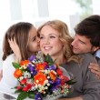 Mother's day celebration in family — Stock Photo #13932620