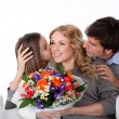 Mother's day celebration in family — Stock Photo #13932623