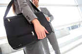 Closeup on business briefcase — Stock Photo