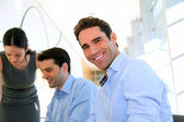 Sales meeting in office — Stock Photo