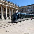Royalty-Free Stock Photo: Tramway passing by the Grand Theatre of Bordeaux