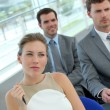 Group of business in conference room — Stock Photo #13942420