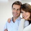 Portrait of married couple at home — Stock Photo #13961238