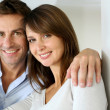 In love couple embracing each other — Stock Photo