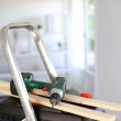 Closeup on tools for redoing house — Stock Photo #13962922