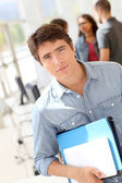 Retrato de estudante de faculdade — Foto Stock