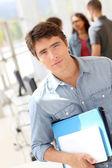 Ritratto di studente di college — Foto Stock