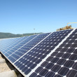 View of solar panels - Stock Photo