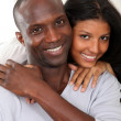 Portrait of happy smiling couple — Stock Photo
