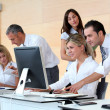 Business working in the office — Stock Photo #18225347