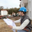 Stock Photo: Supervisor on construction site