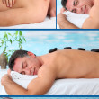 Spa center brochure — Stock Photo