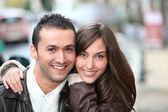 Giovane coppia — Foto Stock