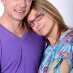 В любимых пара — Стоковое фото