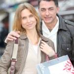 Couple doing shopping — Foto de Stock   #18250821