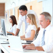 Business training in modern offices — Stock Photo #18251733