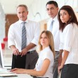 Business training in modern offices — Stock Photo