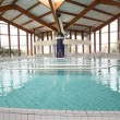 View of spa resort indoors pool — Foto Stock