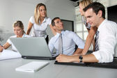 Group of business meeting in the office — Stock Photo