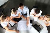 Gruppe von business-meeting im büro — Stockfoto
