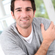 Royalty-Free Stock Photo: Portrait of smiling relaxed man