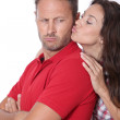 Couple in a bad mood — Stock Photo