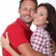 Couple hugging each other tight — Stock Photo #18264627