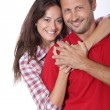 Couple hugging each other tight — Stock Photo #18264653