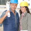 Stock Photo: Construction engineer