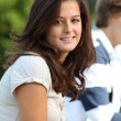Teenagers after school - Stockfoto