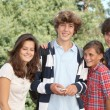 Group of teens after school — Stock Photo #18268535