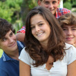 Group of teens after school — Stock Photo #18268721