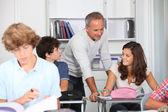 учащиеся класса — Стоковое фото