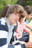 Closeup of high-school student — Stock Photo